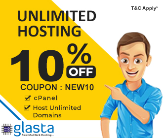 Unlinited Hosting 10% off